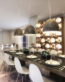 Salão de Festas com espaço gourmet